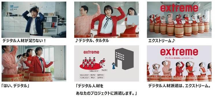 『エクストリーム』新TV-CM「デジ樽登場」ストーリーボード