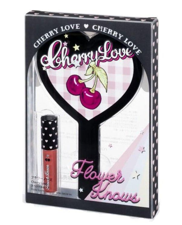 『Flower Knows(フラワーノーズ)』ティントリップ Cherry Love グリスニングウォーターティント #G12 ピーチジェリー