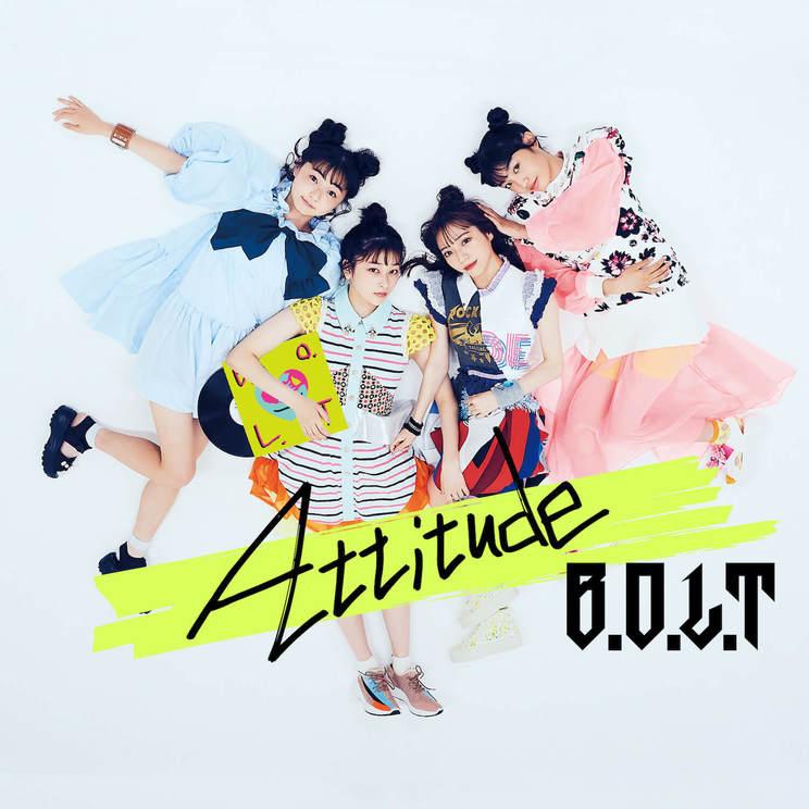 2ndアルバム『Attitude』通常盤