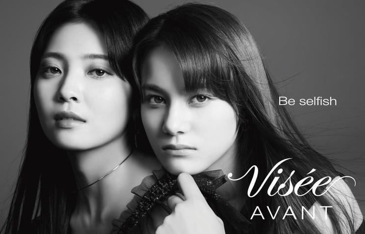 「Visée AVANT」シーズン限定ビジュアル(MAYUKA、NINA)