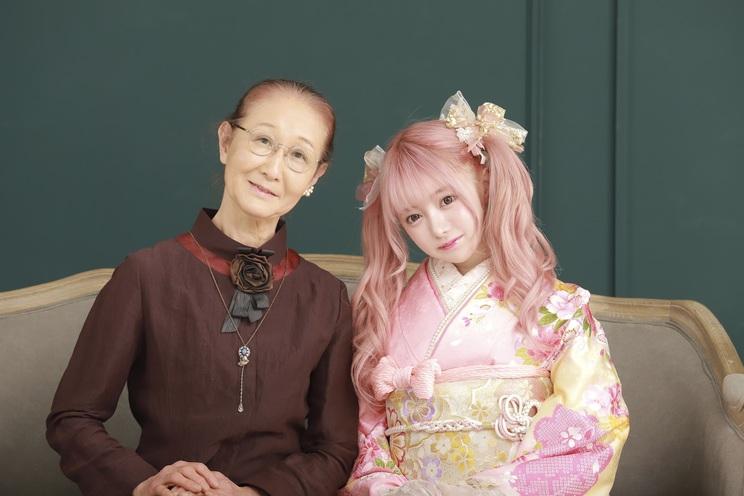 祖母と望月める