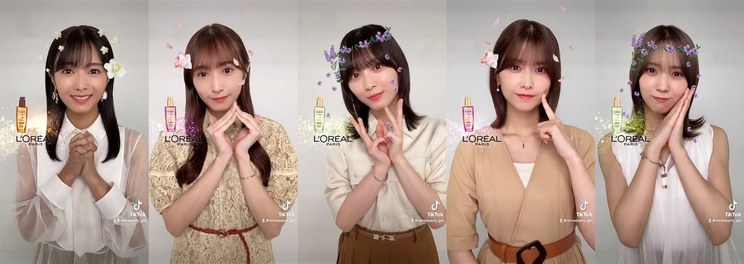 櫻坂46『#髪を咲かせよう』キャンペーン