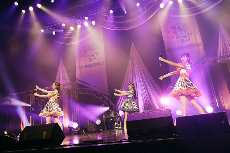 <SUPER☆GiRLS ワンマンライブ ~はじめまして!第5章 新生スパガです!~>(Zepp DiverCity (TOKYO)/2021年9月20日)