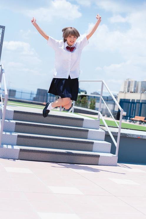 火将ロシエル写真集『ignis』川越編(©光文社/週刊FLASH 撮影:栗山秀作)