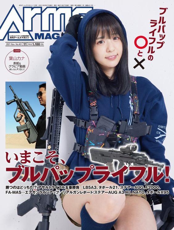 『月刊アームズマガジン』11月号