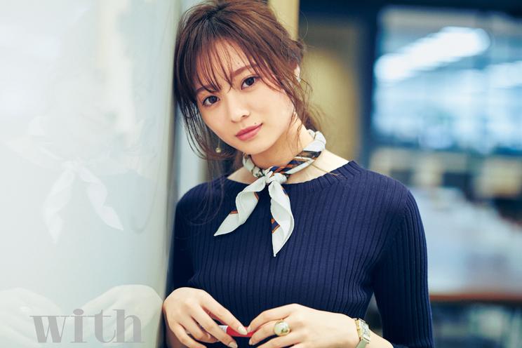 梅澤美波(乃木坂46)|『with』2019年4月号(講談社)より