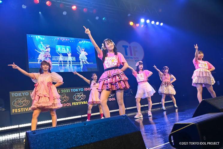 """Tシャツ購入者限定ステージ""ピンク祭り<TOKYO IDOL FESTIVAL 2021>(2021年10月2日)"