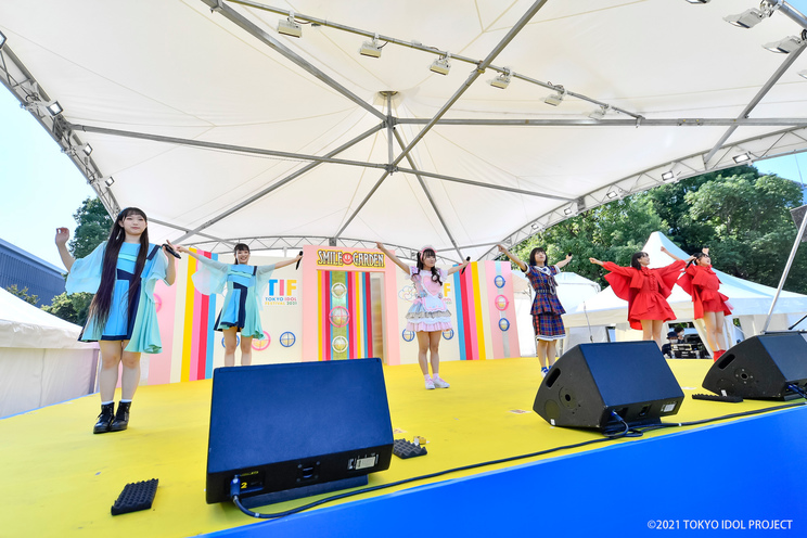 ラジオ体操<TOKYO IDOL FESTIVAL 2021>(2021年10月3日)