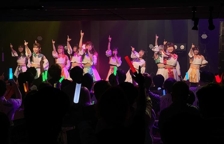 点染テンセイ少女。(SHIBUYA DIVE/2021年10月8日)