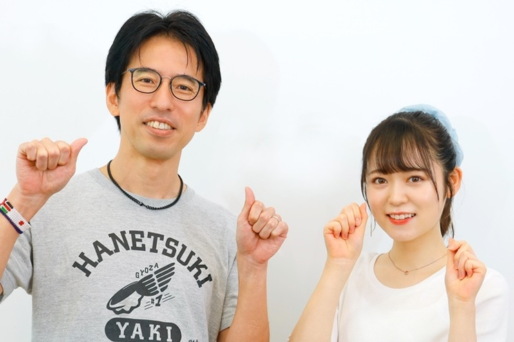 塚田編集長、西川怜(AKB48)
