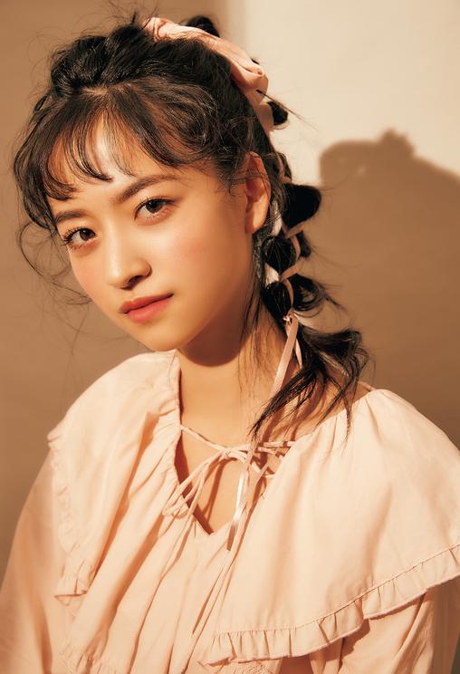 金川紗耶(乃木坂46 4期生)「AMBIGUOUS HAIR ARRANGE」|『LARME 039』