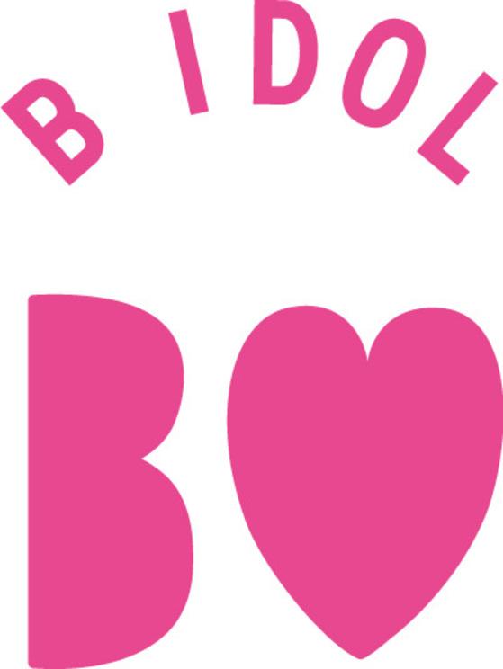 『B IDOL』ロゴ