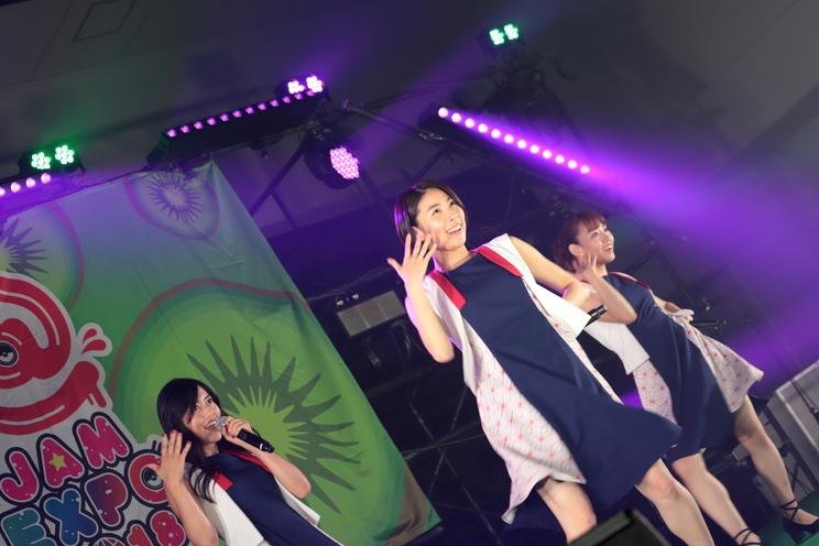 <@JAM EXPO 2018>8月25日「callme」キウイステージ