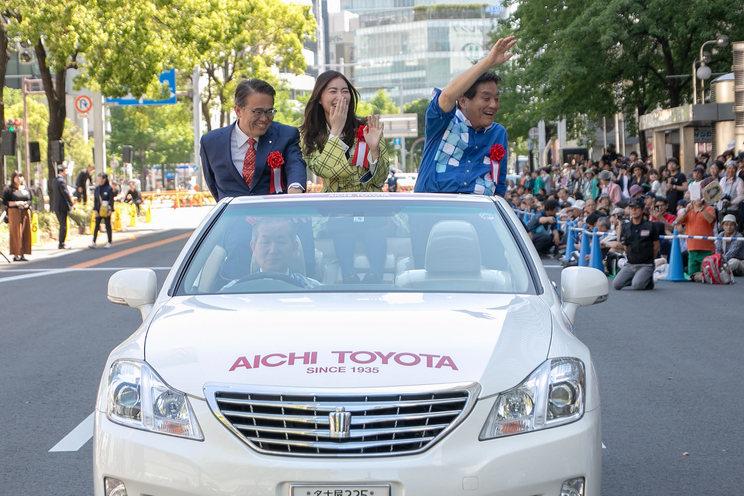 SKE48 松井珠理奈<ナゴヤ・エキトピアまつり>オープニングパレード