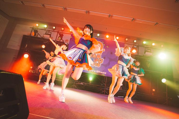 <@JAM EXPO 2018>8月25日「煌めき☆アンフォレント」ブルーベリーステージ