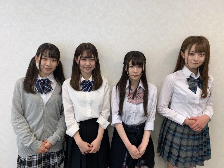 左から:藤木愛、児島七奈、橘ひより、浅見歩果