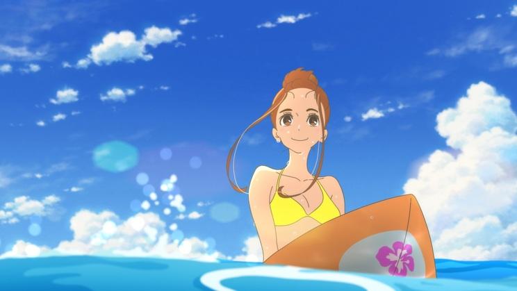 ひな子(声・川栄李奈)|映画『きみと、波にのれたら』