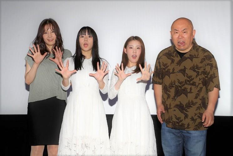 浅川梨奈<映画『黒い乙女Q』舞台挨拶>|シネマート新宿(2019年6月1日)