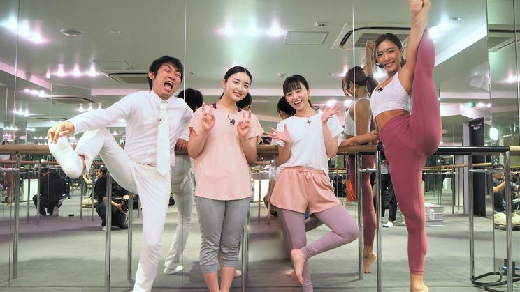 写真左から、ノンスタイル石田、安部乙、今泉佑唯、麻田ゆん