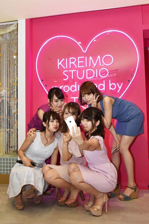 『キレイモ スタジオ Produced by TGC』オープン記念メディア発表会