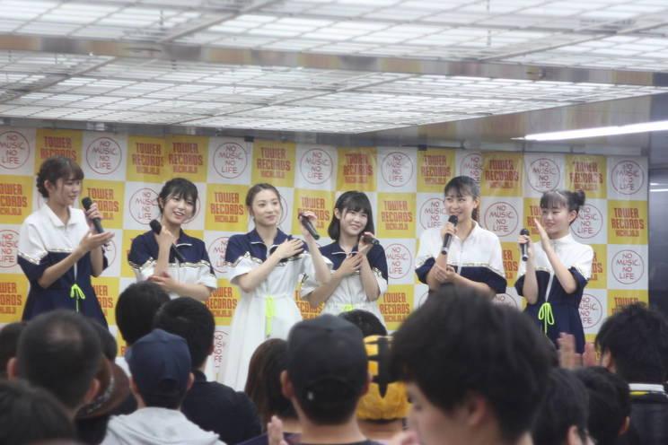 CROWN POP 2ndシングル「サマータイムルール」発売記念イベント|東京吉祥寺タワーレコード(2019年7月7日)