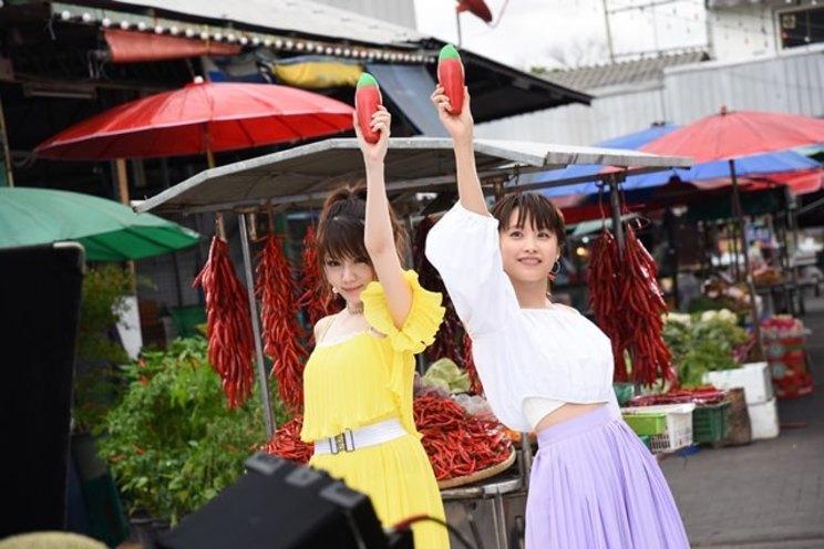 新CM「愛とれいなの冒険」編 撮影風景