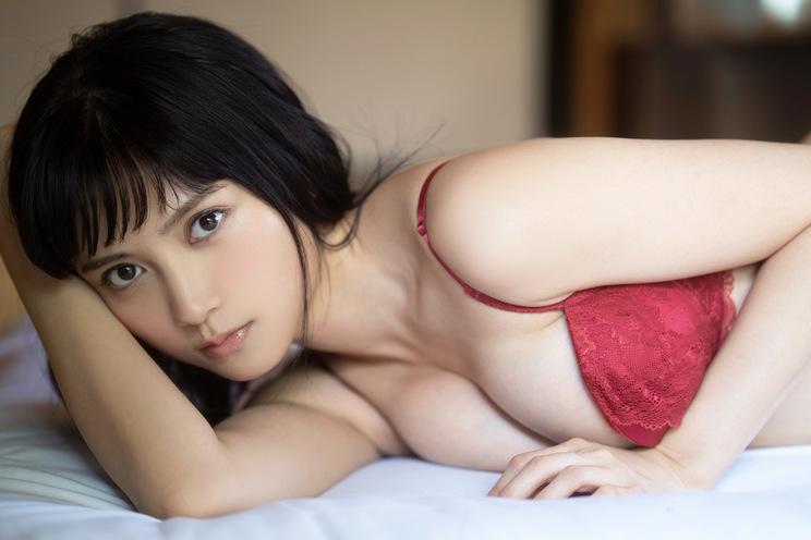桃月なしこ (c)YOROKOBI/週刊FLASH
