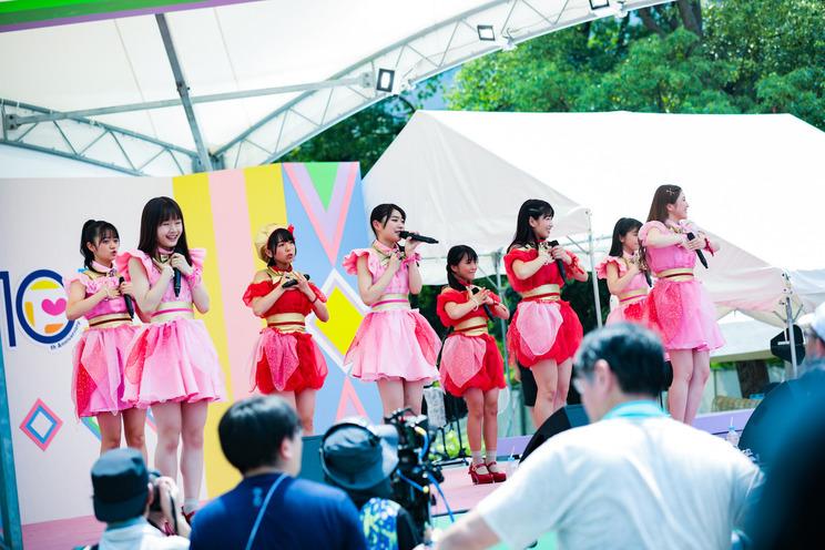 アップアップガールズ(2)×マジカル・パンチライン<TOKYO IDOL FESTIVAL 2019>| 8/2 SMILE GARDEN(12:10-)