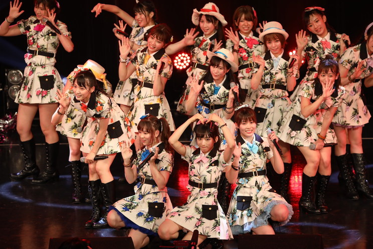 AKB48チーム8<TOKYO IDOL FESTIVAL 2019>|HOT STAGE(2019年8月2日)