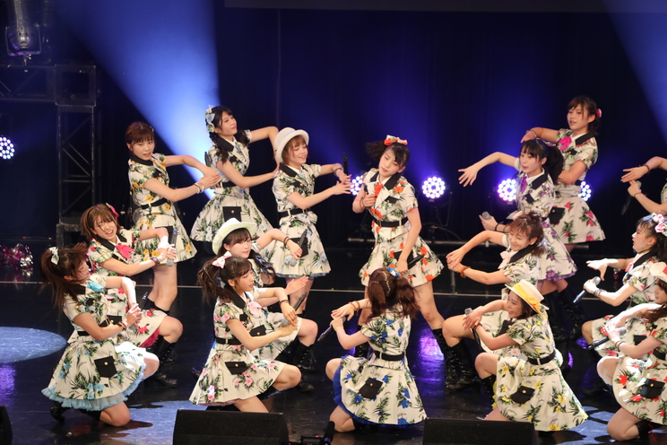 AKB48チーム8<TOKYO IDOL FESTIVAL 2019>|HOT STAGE(2019年8月2日)