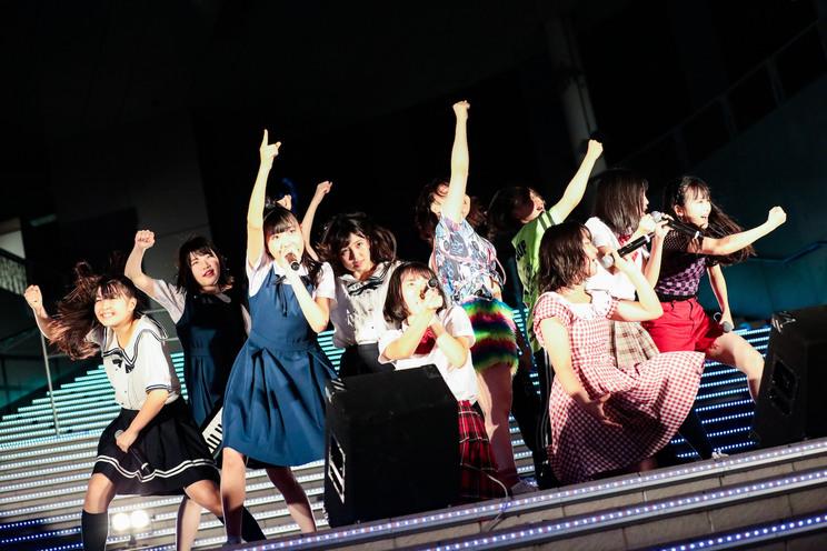 BEYOOOOONDSメジャーデビューシングル発売記念イベント|2019年8月6日 ダイバーシティ東京プラザ 2Fフェスティバル広場