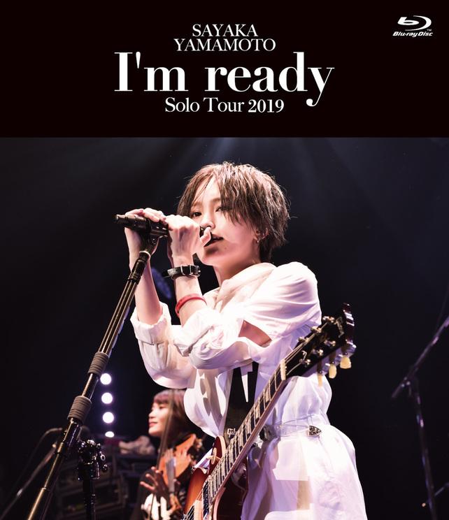 LIVE Blu-ray『山本彩 LIVE TOUR 2019 〜I'm ready〜』(通常盤)