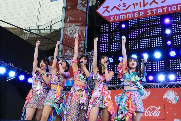 こぶしファクトリー<愛踊祭2019スペシャルイベント>東京・六本木ヒルズ SUMMER STATION LIVEアリーナ(2019年8月14日)