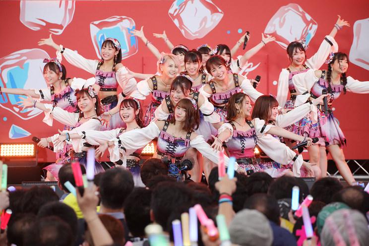 SKE48 チームKⅡ<SUMMER STATION 音楽LIVE>|六本木ヒルズ SUMMER STATION LIVEアリーナ(2019年8月18日)