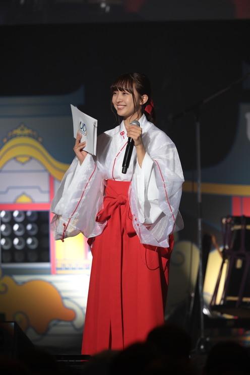 MC:渡邉幸愛(SUPER☆GiRLS)