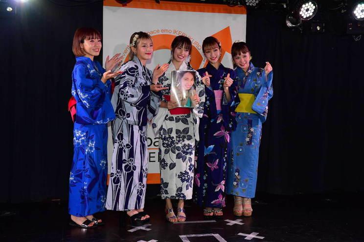 CHERRSEE MIYU1st写真集『Birth』発売記念ミニライブ Space emo 池袋(2019年9月1日)
