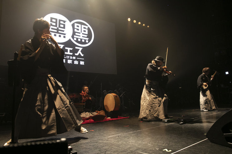 竜馬四重奏<黒フェ ス2019 ~白黒歌合戦~>|豊洲PIT(2019年9月6日)