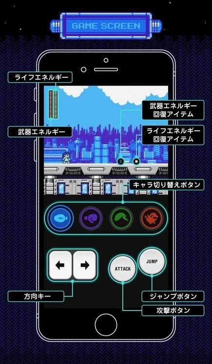 ゲーム操作画面