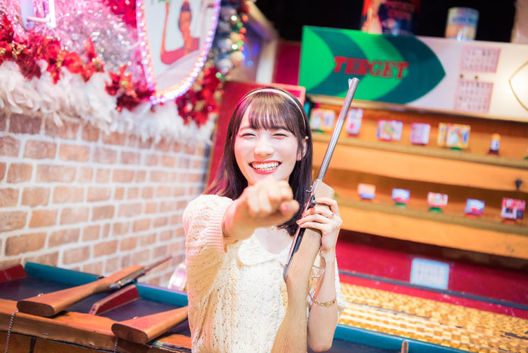 江嶋綾恵梨(26時のマスカレイド)|デックス東京ビーチ『シューティングギャラリー』