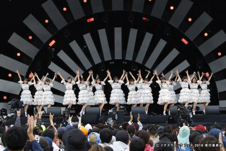 日向坂46<イナズマロック フェス2019>|烏丸半島芝生広場(2019年9月21日)