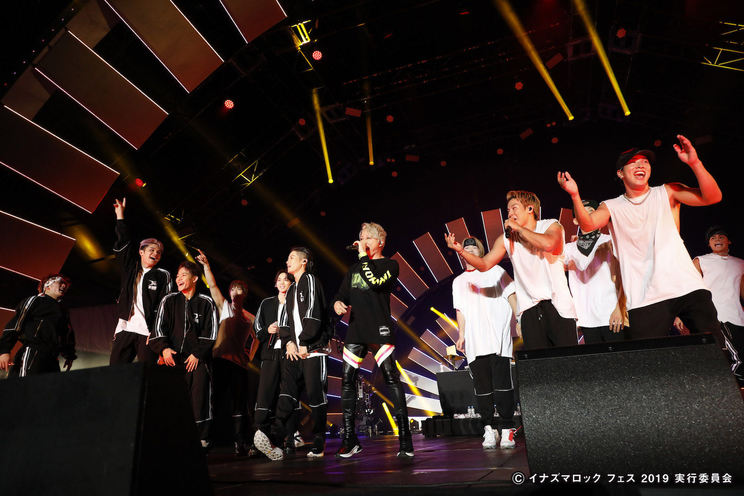 THE RAMPAGE from EXILE TRIBE×西川貴教<イナズマロック フェス2019>|烏丸半島芝生広場(2019年9月21日)