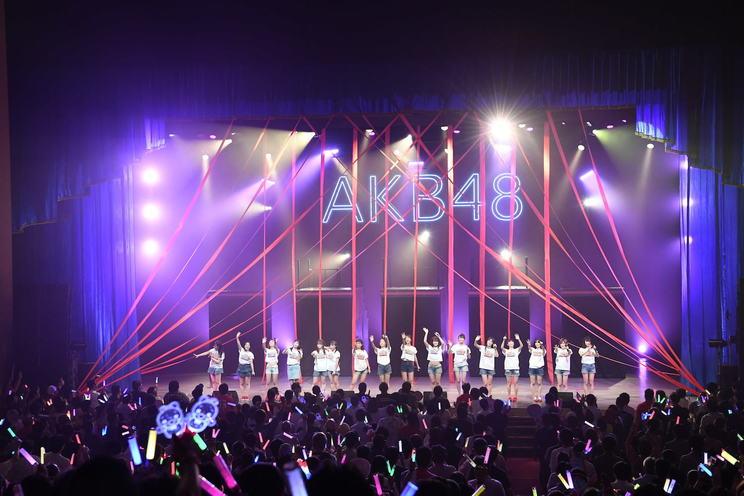 <AKB48全国ツアー2019〜サプライズでしあわせお届け!AKB48×アクアクララ〜コンサート〜 千葉公演>(2019年9年26日)©AKS