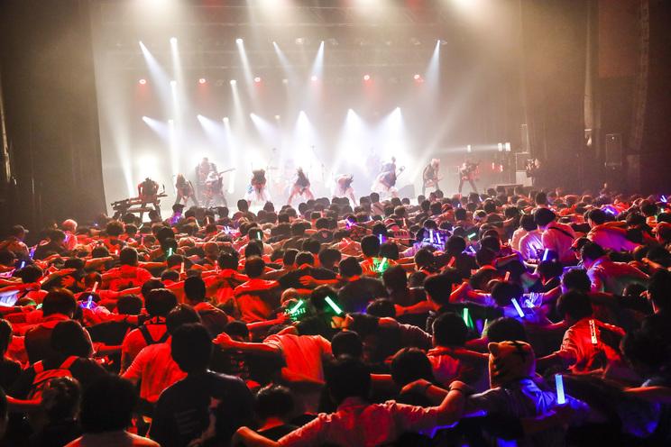 <TEAM SHACHI 1stシングル発売記念 プレミアムフリーライブ〜60minutes!! TEAM SHACHI BAND Rocks You Away!〜>2019年10月4日@新木場STUDIO COAST