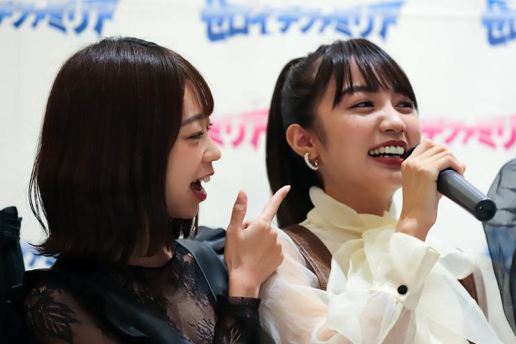 青山ひかる、黒木ひかり『Platinum FLASH×ゼロイチファミリア』発売記念イベント