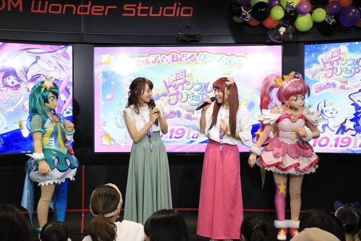 <キュアスター&キュアミルキーと一緒に踊ろう!映画公開記念☆スペシャルダンスイベント>より