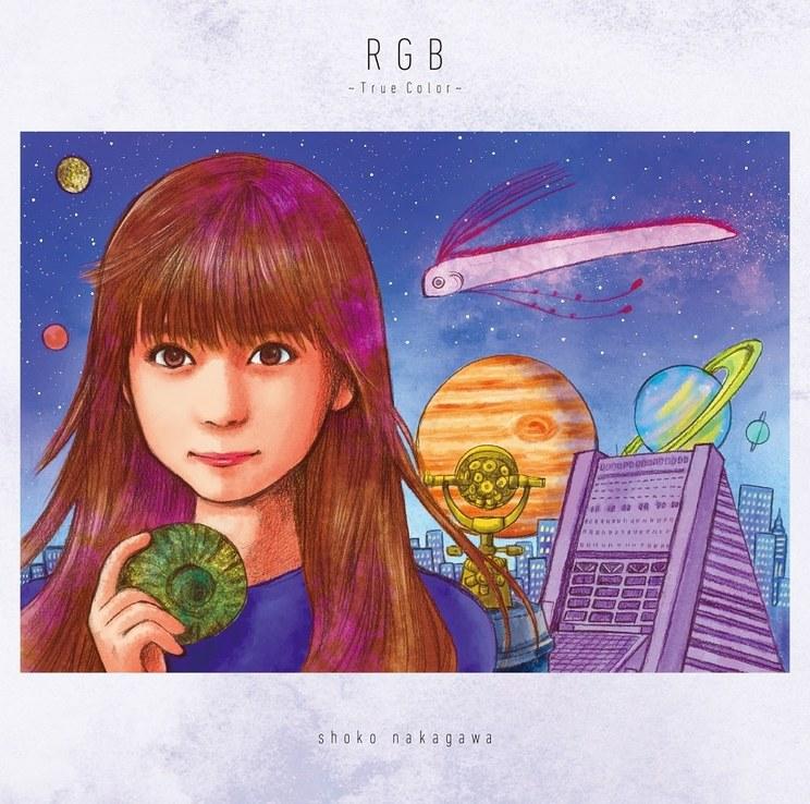 5thアルバム『RGB 〜True Color〜』青盤(通常盤)