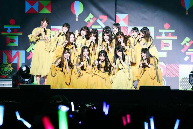 日向坂46<MBS音祭2019> 大阪城ホール(2019年10月6日)