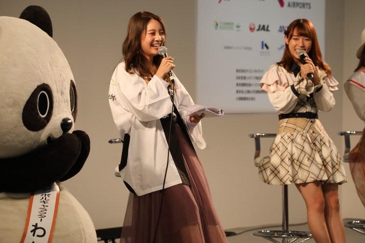 AKB48チーム8 山本瑠香<ツーリズムEXPOジャパン2019>|インテックス大阪(2019年10月27日)