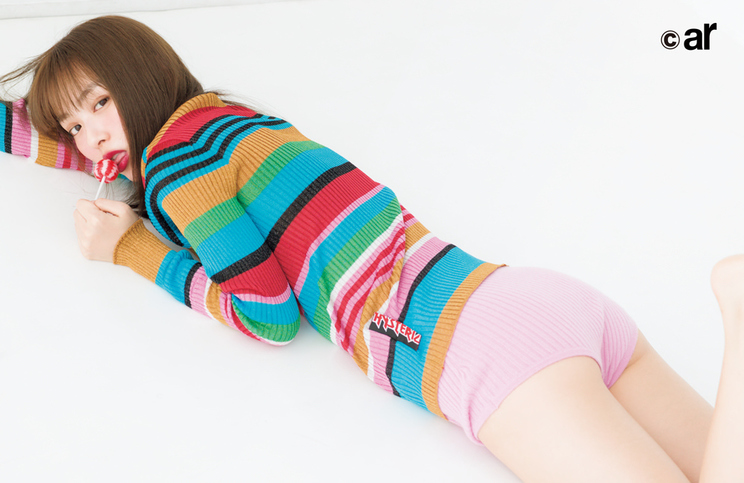 内田理央『ar』12月号より