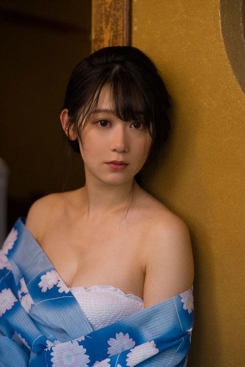 『SPA!デジタル写真集 妖精かなめ』誌面カット